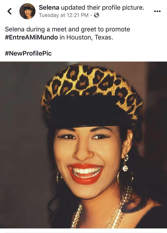 The new Selena Entre a Mi Mundo collection features a photo taken in Houston Photo: Joey Guerra, Selena Official / Selena Official