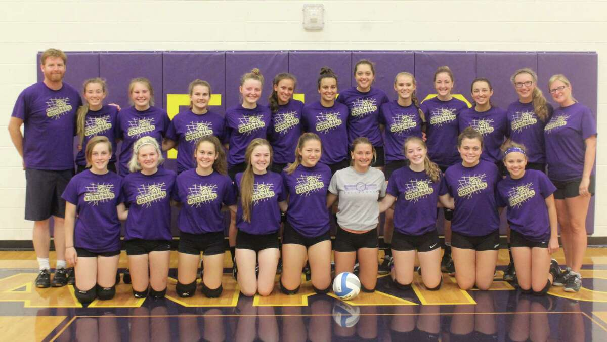 The 2017 Frankfort Volleyball Team