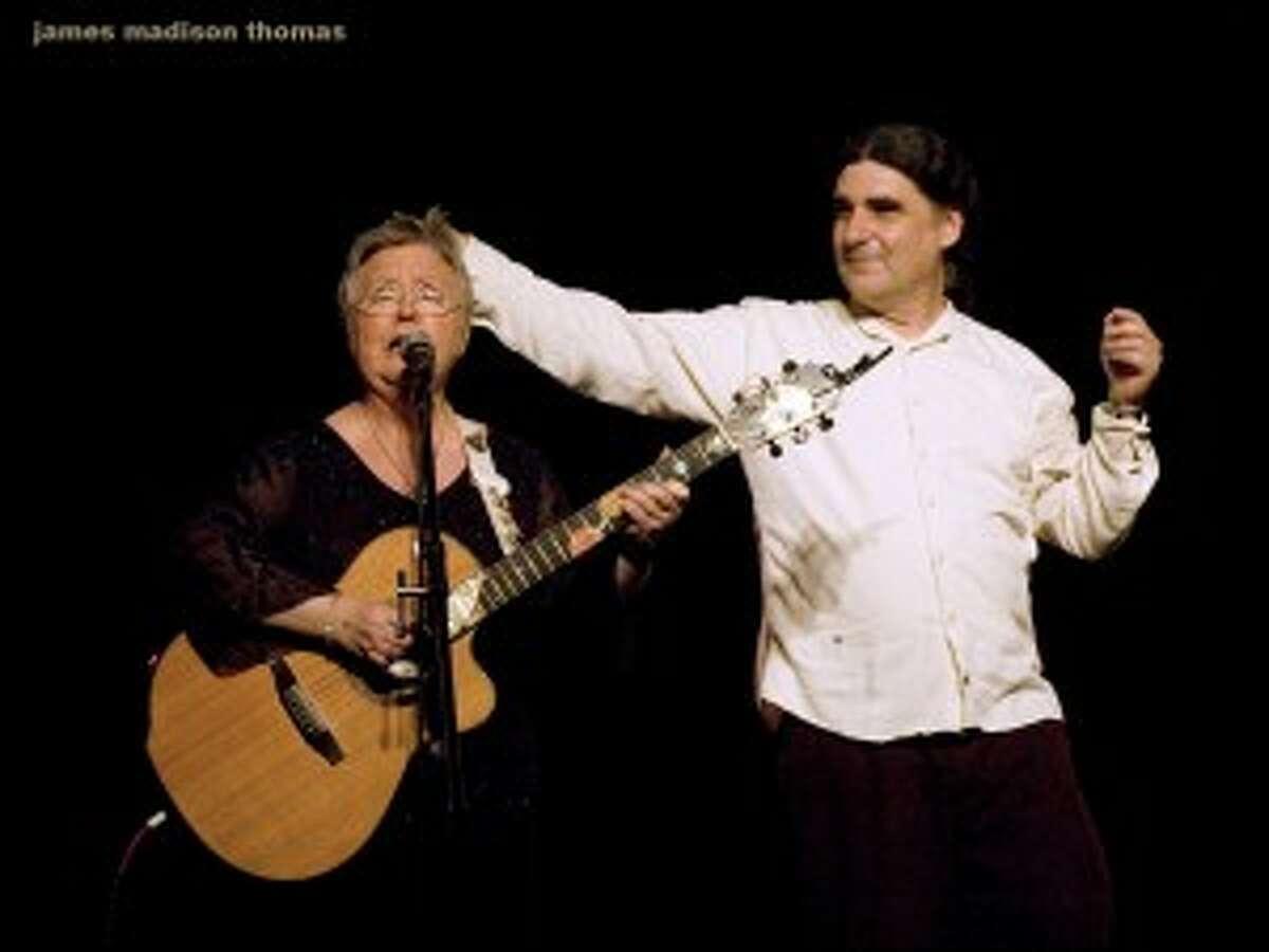 Christine Lavin and Don White