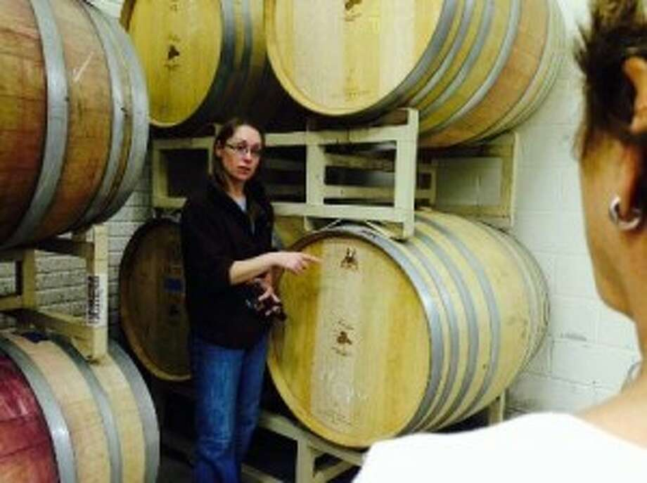 BEHIND THE SCENES: During the Zonta Club's Good Libations tours, visitors will get a behind the scenes look at how the different wines, beers and spirits are made by the different local companies.
