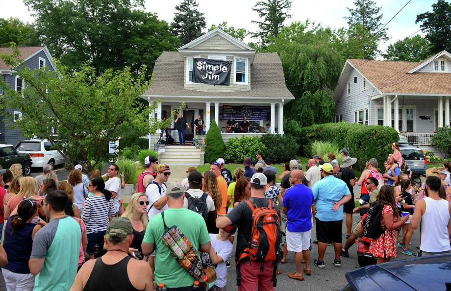 Black Rock's 4th annual PorchFest will be hosting dozens of musicians on Saturday afternoon. Find out more. Photo: Christian Abraham / Hearst Connecticut Media / Connecticut Post