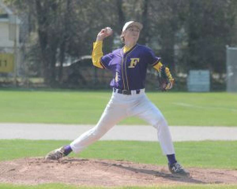 Jack Stefanski pitches for the Panthers during his freshman year in 2018. (File photo)
