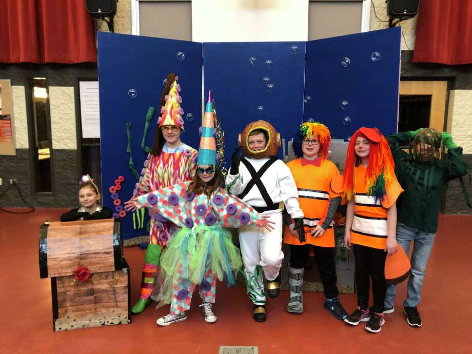 The Crystal Lake Odyssey of the Mind team competes at state finals. (Courtesy photo)