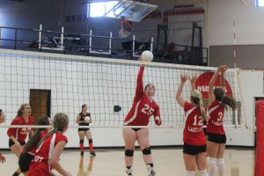 LEARN THE BASICS: Volleyball players from fourth grade through high school will be able to train and work on their skills at the Benzie Central Volleyball camp beginning on June 25. (Photos/Bryan Warrick)