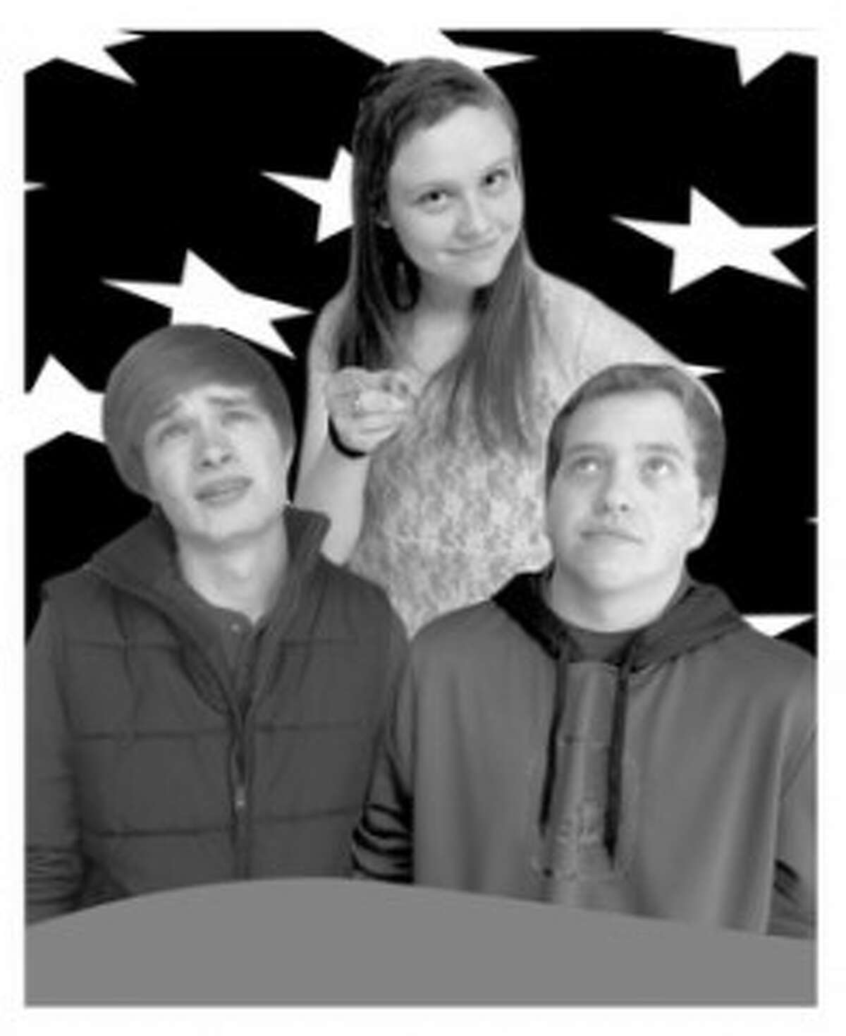 """ROOMMATE RIVALRY: The Benzie County Players will present Neil Simon's comedy """"Star Spangled Girl,"""" the tale of two young men struggling to get by as they publish a """"protest"""" magazine from their apartment, and vying for the attention of an attractive young woman who moves in next door. (Courtesy Photo)"""