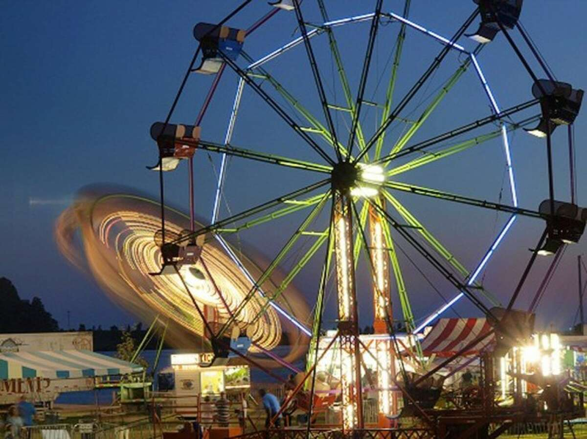 ALL DAY FUN: The Ferris Wheel is lit up as the sun sets on the Carnival. The event will be in Frankfort to help visitors celebrate the Fourth of July weekend. (Courtesy Photos)