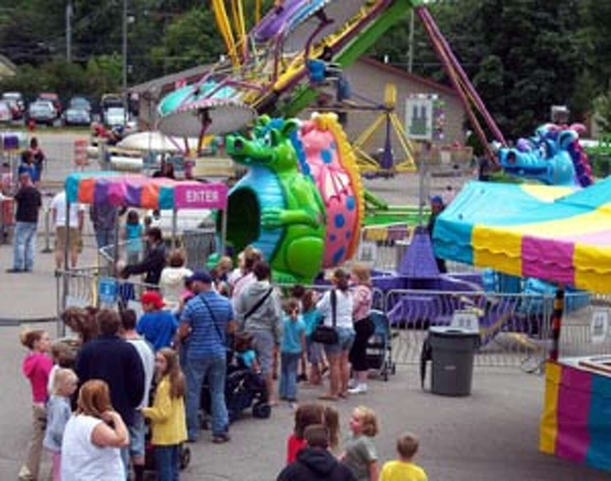 SOMETHING FOR EVERYONE: Many of the rides at the Frankfort festival will be for kids, including the Dragon Ride.
