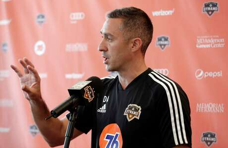 Davy Arnaud says his first focus as the Dynamo's interim coach is Saturday's game vs. Colorado.