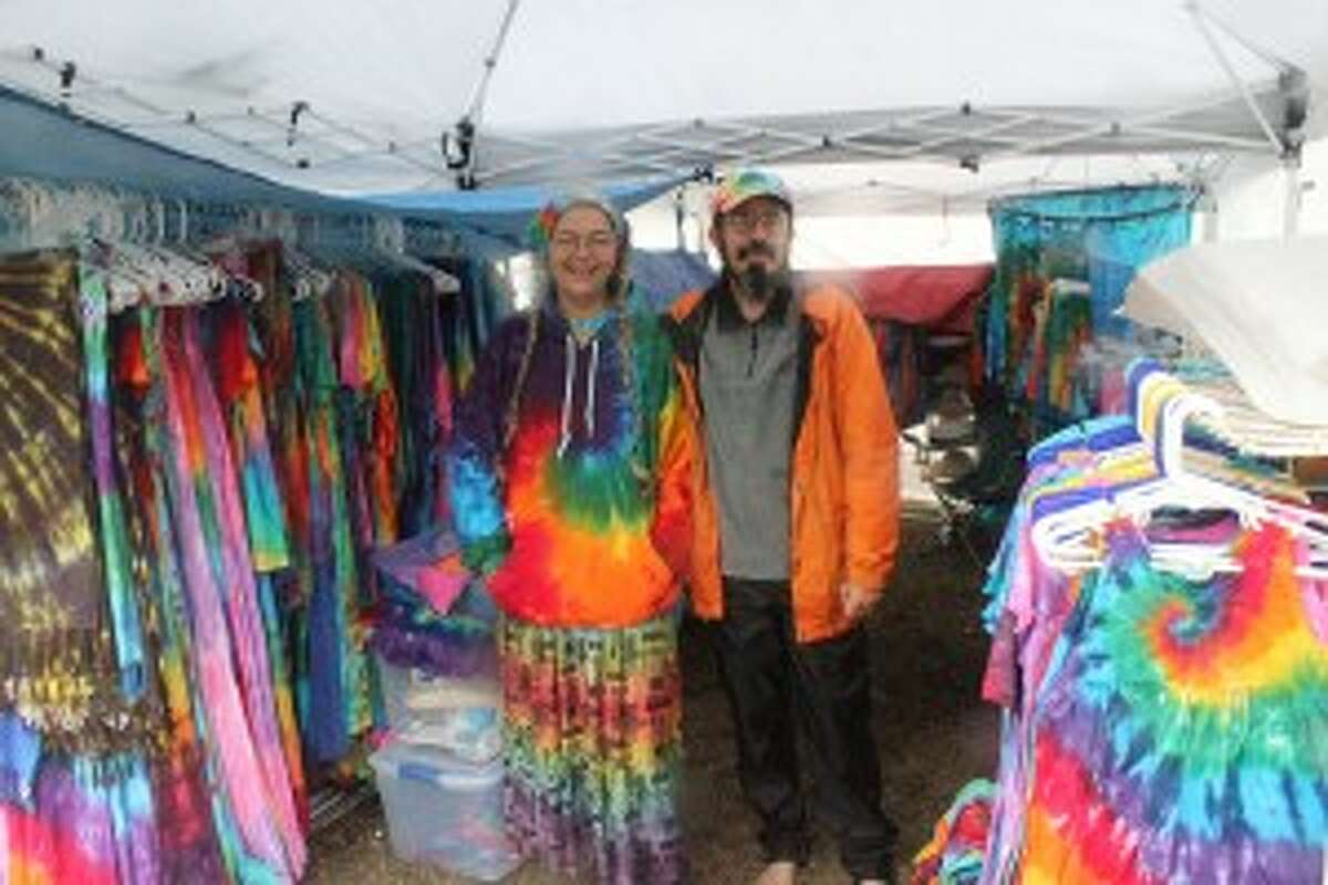 LOCAL GIFTS: Along with the musicians, all the vendors who will be at the Festival throughout the weekend are all Michigan-related, including the old-school tye-dye shop.