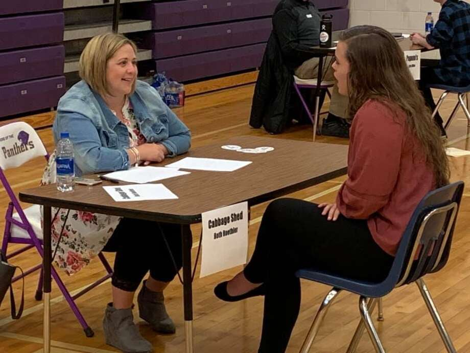 Beth Roethler from Cabbage Shed Interviews Raegan Luxford. (Courtesy photo)