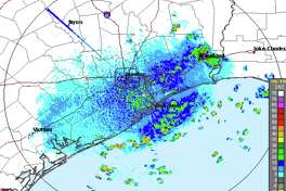A spate of afternoon thunderstorms in Houston is expected to continue Friday, Aug. 16, 2019.