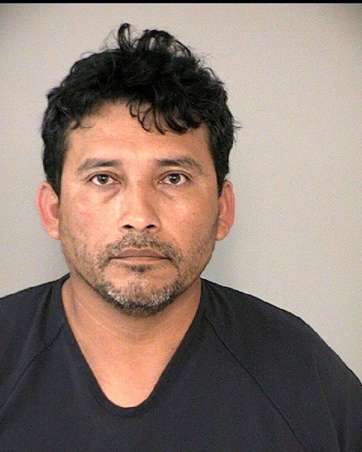 Apolinar Almazan was charged with prostitution.