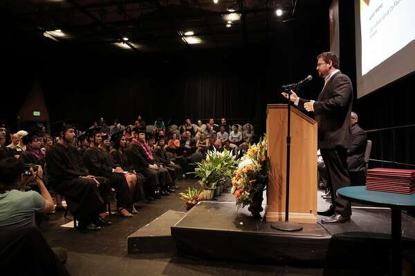 Tuition-free college program for working Bay Area adults holds inaugural graduation ceremony