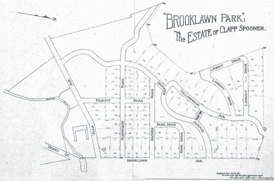 Brooklawn neighborhood map. Photo: Contributed Photo