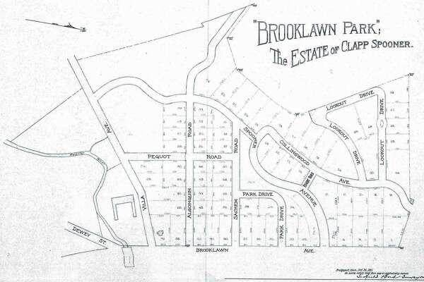 Brooklawn neighborhood map.