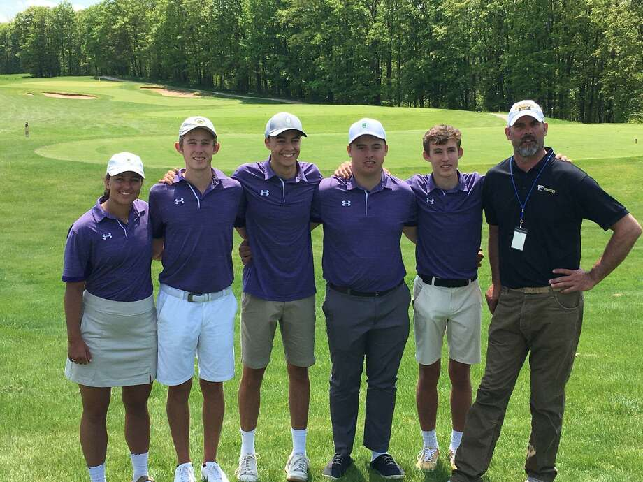 Frankfort's golfers earned academic all-state recognition this spring after finishing with the second best team grade point average in the state. (Courtesy photo)