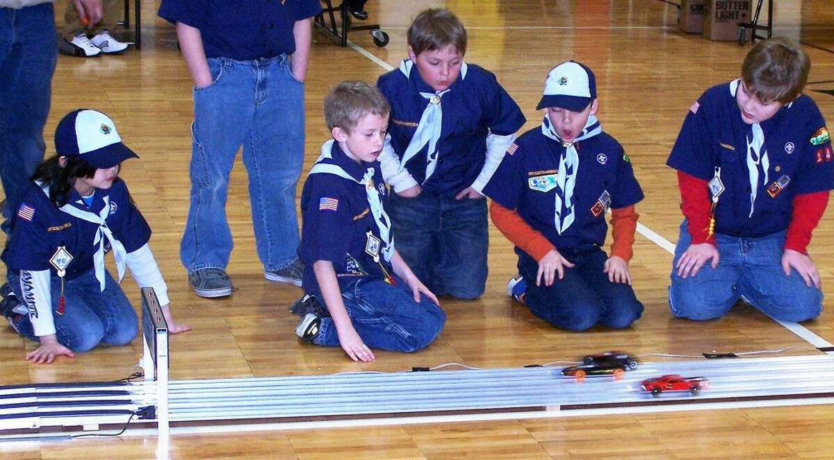 PINEWOOD DERBY: One of the popular Cub Scout activities is the annual Pinewood Derby.