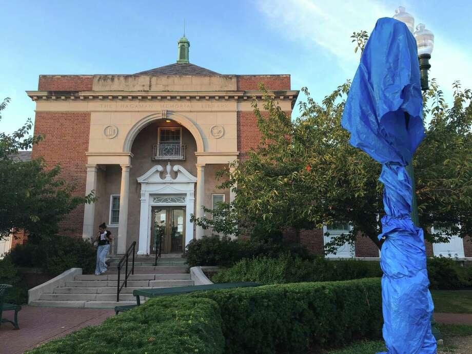 East Haven's Hagaman Memorial Library. Photo: Mark Zaretsky / Hearst Connecticut Media /