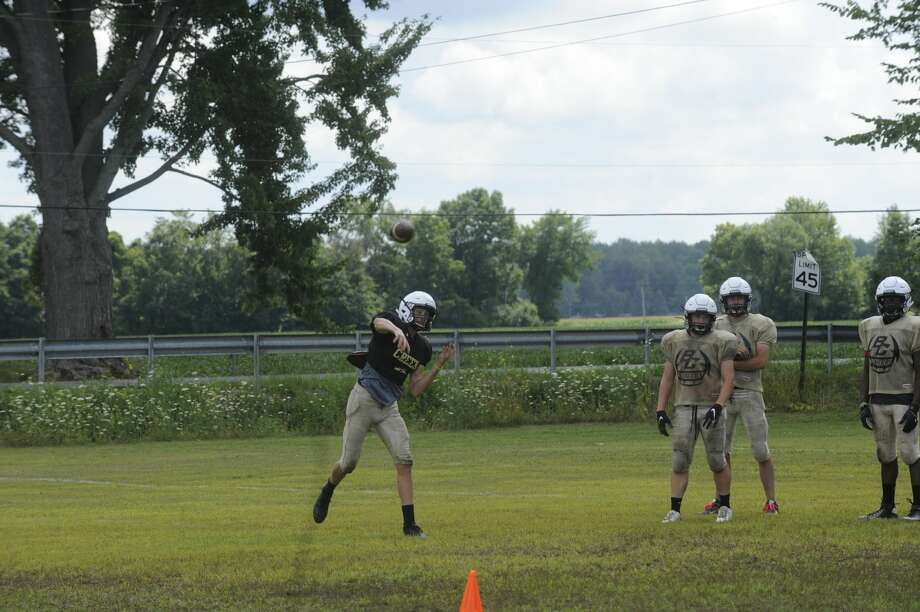 Scenes from Friday's Bullock Creek football practice. Photo: Fred Kelly/fred.kelly@mdn.net
