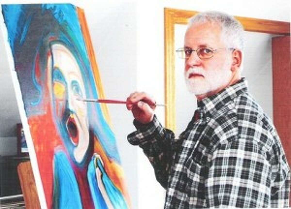 THE PAINTER: Mike Twigg will have some of his painting for sale in the the Frankfort Art Fair this weekend.