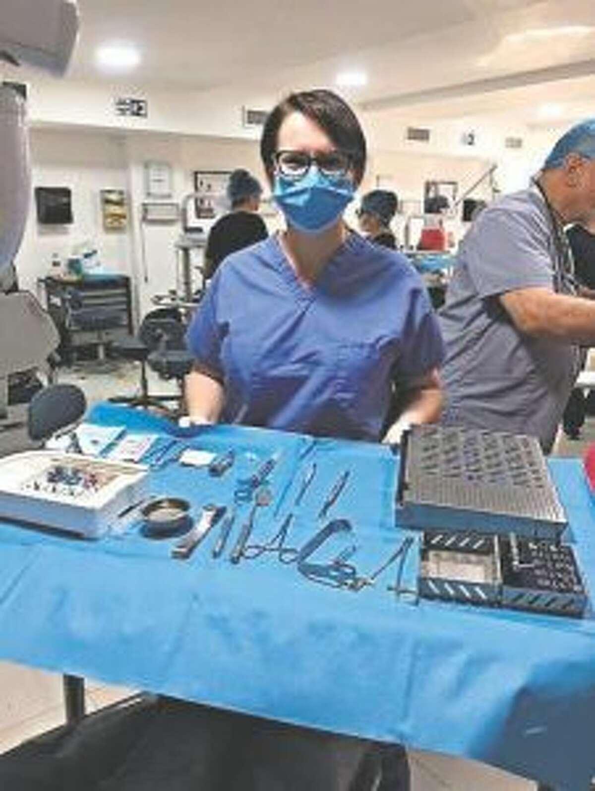 Julie Stefanski spent three days in the Dominican Republic city of Santo Domingo doing volunteer dental work. (Courtesy Photo)