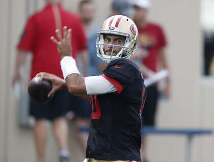 49ers' practice report: Garoppolo rebounds from 5-INT disaster