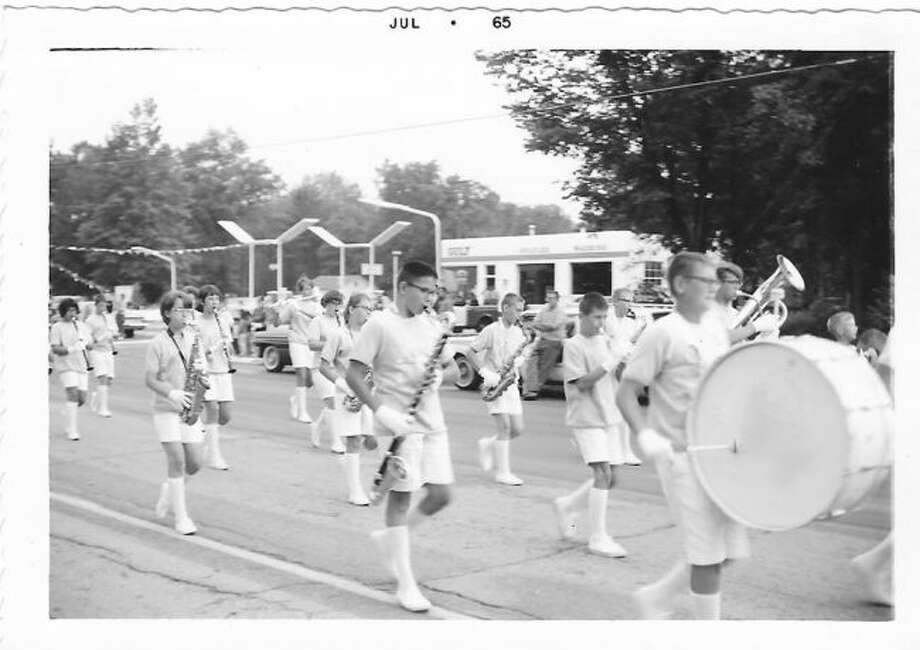 The Alley Kats marched in parades. This courtesy photo dates back to 1965.