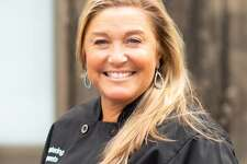 """Stamford Museum & Nature Center invites the public to register for an evening of events on September 19, featuring the exhibition opening reception of """"Fruitfulness by Nathalia Edenmont,"""" followed by SM&NC's signature Fall Farm-to-Table Supper, prepared by award-winning chef Alison Milwe Grace, pictured. 1. Nathalia Edenmont, My Mind's Eye, 2016, c-print mounted onto aluminum, 55 x 55 inches 2. Nathalia Edenmont,Juicy, 2016, c-print mounted on aluminum, 61 x 50 inches 3. SM&NC Fall Farm-to-Table Chef Alison Milwe Grace"""