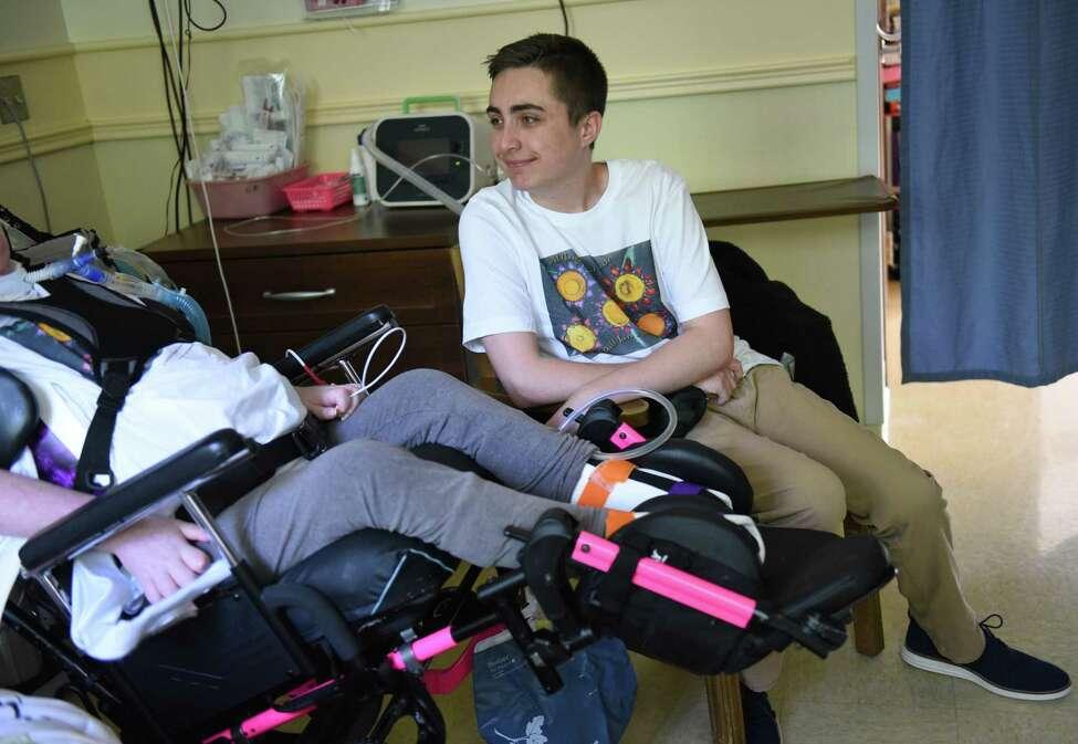 CBA Sophomore Gabriel Donovan visits