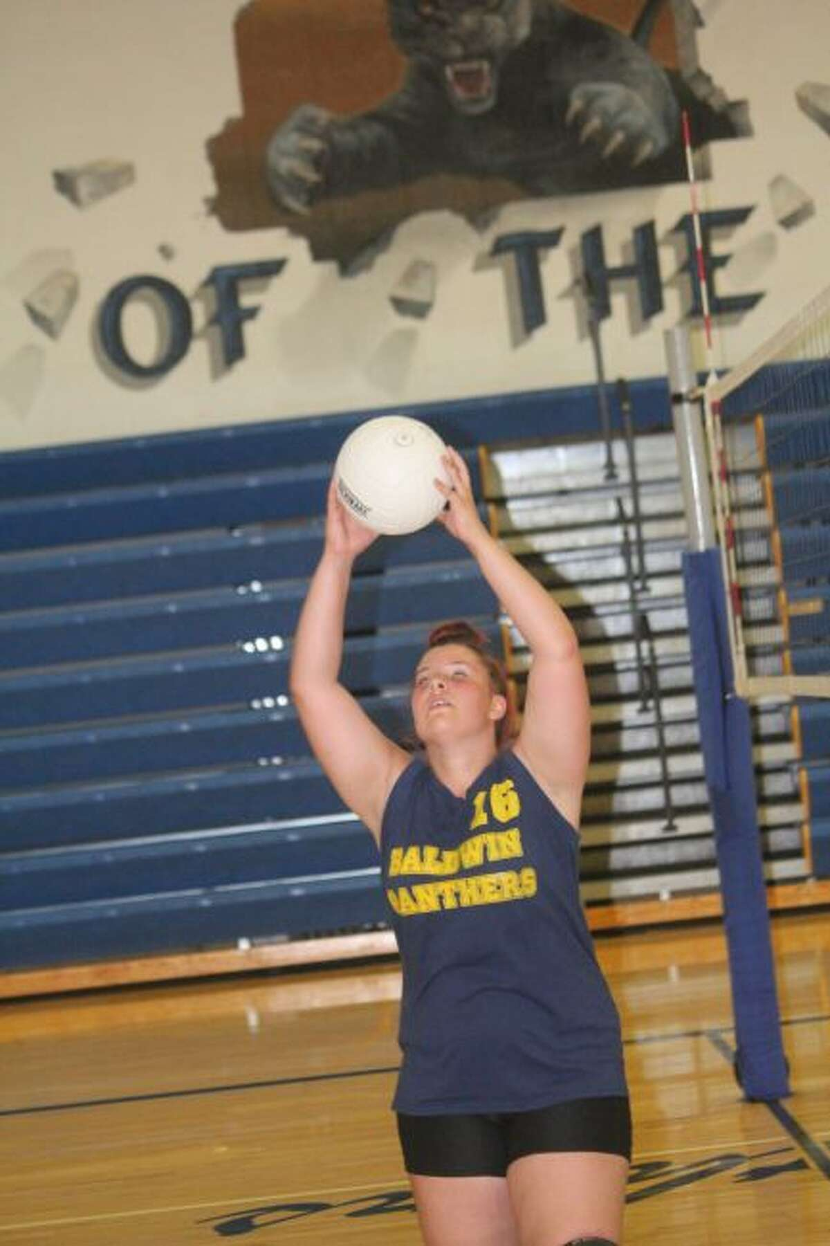 Baldwin's volleyball team is coached by Duane Roberts.