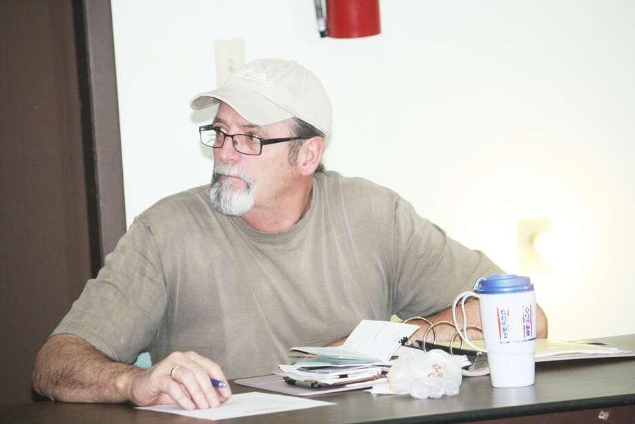 Busy Job: Rick Delamater, president of the Lake County Sportsman Club (John Raffel/Lake County Star photo)