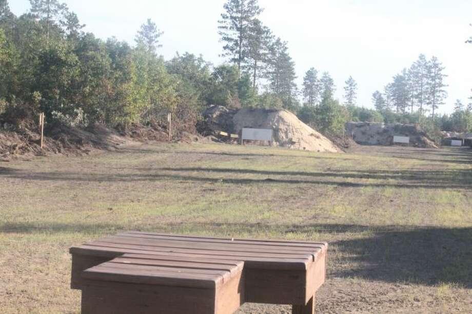 The Lake County Sportsman Club rifle range.