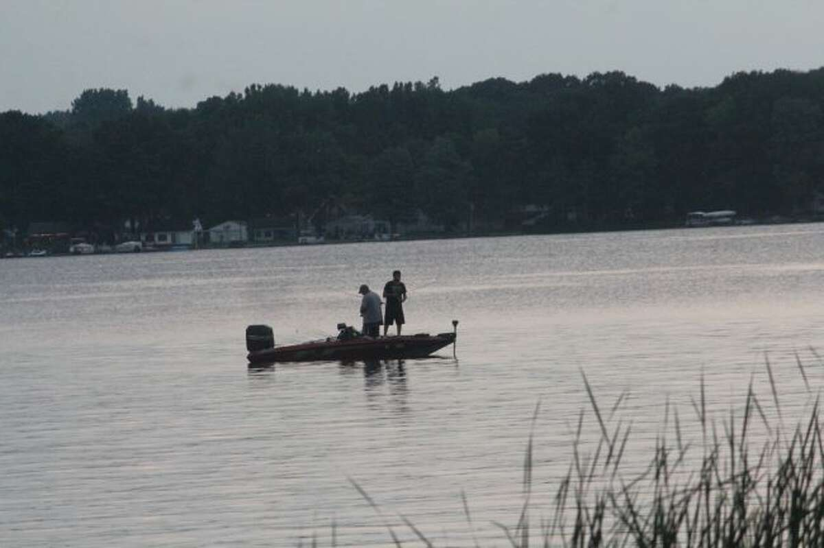 It's been tougher to fish with the prevailing warm weather.