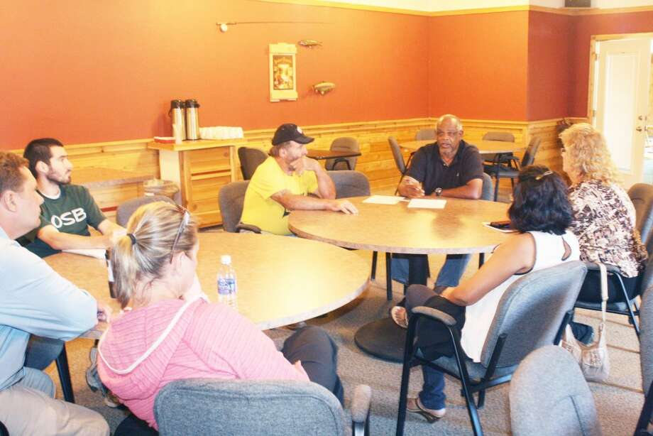 Baseball: Lake County 4-H Little League board members had a meeting Tuesday with community members to discuss the future of baseball in the area. (Star photo/John Raffel)