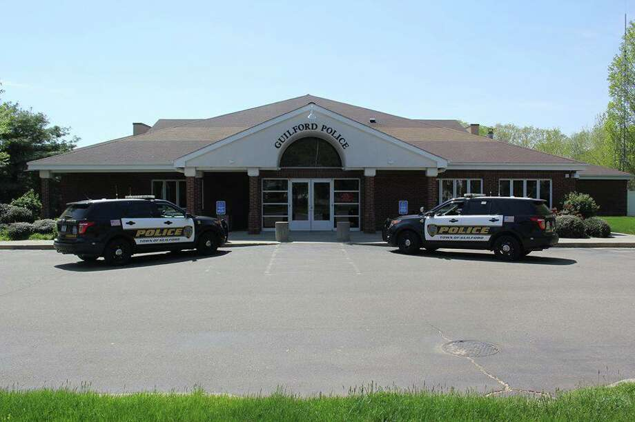 File photo of Guilford Police Headquarters Photo: Contributed Photo / Guilford Police Department