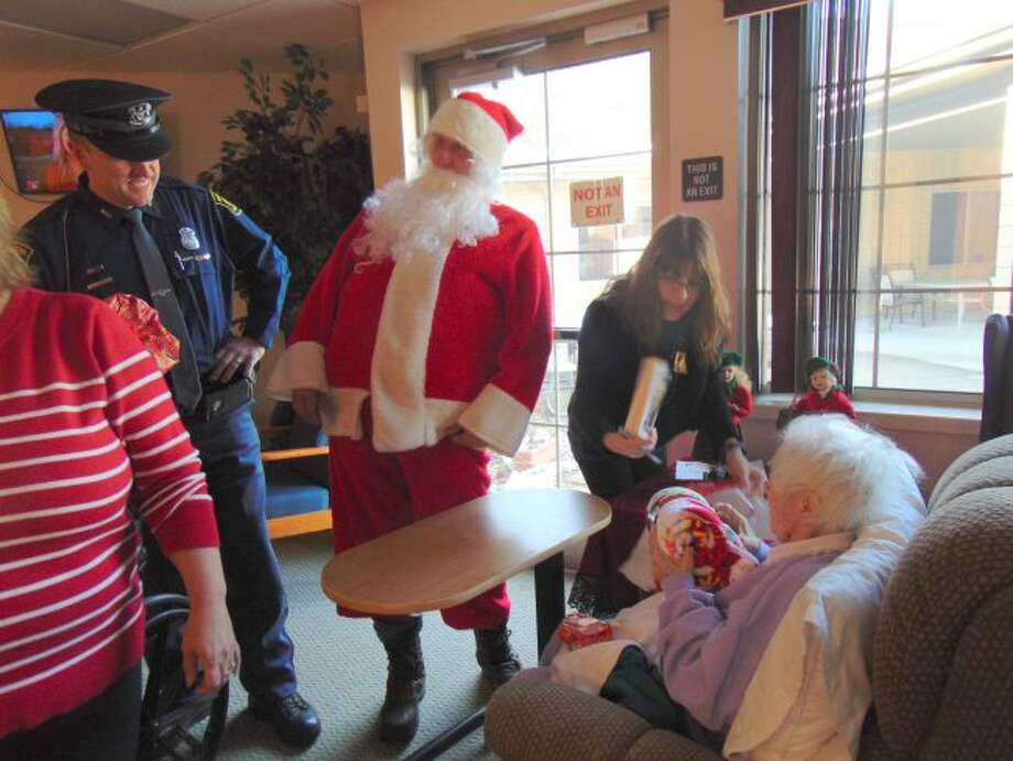 Christmas came early to residents at Grand Oaks Nursing Center thanks to the Lake County Prosecutor's Office and Lake County Trial Court. (Star photo/Shanna Avery)