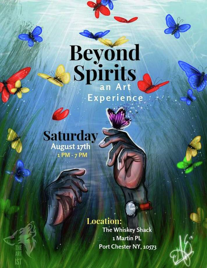 """""""Beyond Spirits, an Art Experience,"""" an eclectic art and music event, is taking place at The Whiskey Shack in Port Chester, N.Y., on Aug. 17. Photo: Grace Noel @thegracenoel"""