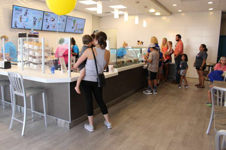 The newest opening is the return of Marble Slab Creamery in the old TCBY location on Wadley Ave. the ice cream shop opened Wednesday. Store hours are 11 a.m.-10 p.m. Mondays-Thursdays, 11 a.m-11 p.m. Fridays and Saturdays and noon-9 p.m. Sundays. Photo: Midland Reporter-Telegram