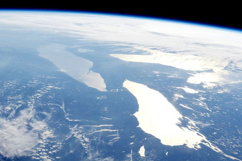 Michigan's Great Lakes: The Great Lakes are undeniably amazing natural landmarks, and thanks to NASA, its is easier to see how large and beautiful they are. To keep them this way its is important to take steps towards preservation of the water and the wildlife. (Courtesy photo)