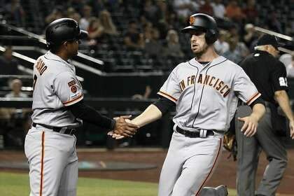 Giants' Austin Slater excelling with an approach straight out of the Barry Bonds playbook