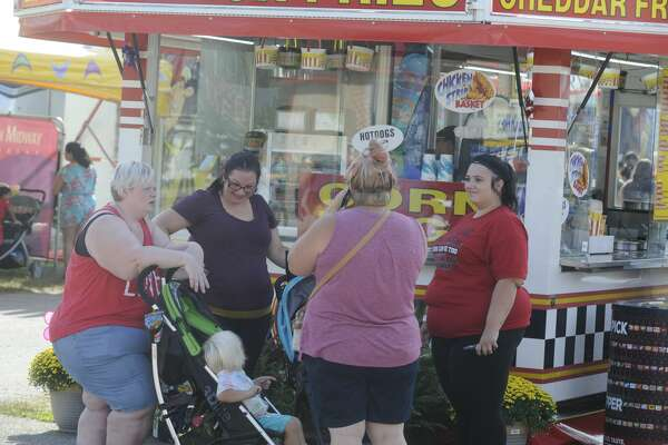 The Midland County Fair was busy on a warm, sunny Friday afternoon. The fair will be open through Saturday, Aug. 17.