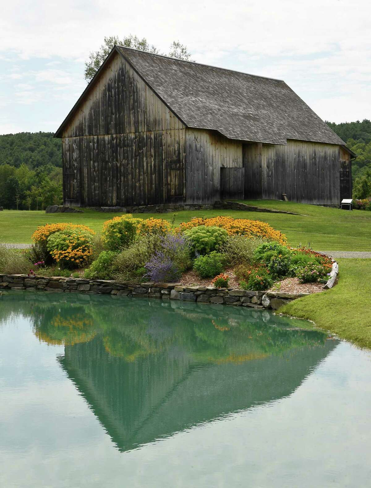 Exterior of a barn at Historic Barns of Nipmoose on Thursday Aug. 15, 2019 in Buskirk, N.Y. (Lori Van Buren/Times Union)
