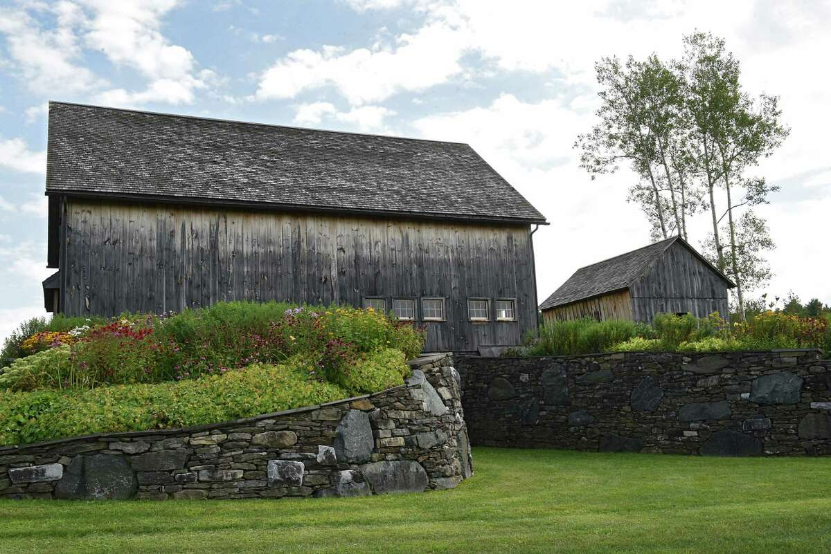 Barns at Historic Barns of Nipmoose on Thursday Aug. 15, 2019 in Buskirk, N.Y. (Lori Van Buren/Times Union)