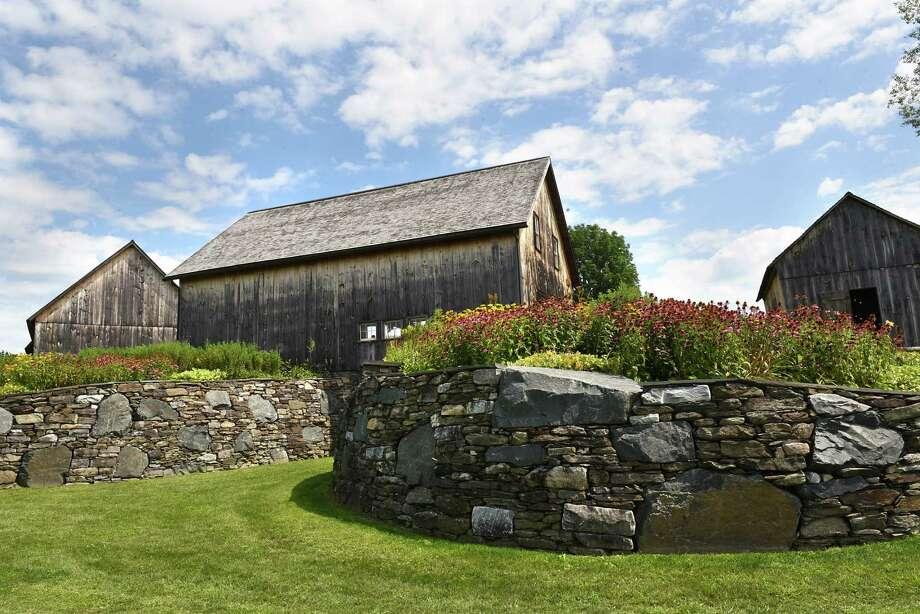 Barns at Historic Barns of Nipmoose on Thursday Aug. 15, 2019 in Buskirk, N.Y. (Lori Van Buren/Times Union) Photo: Lori Van Buren, Albany Times Union / 20047664A