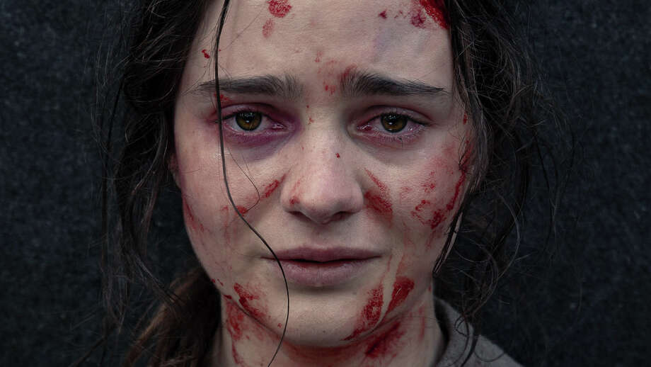 "Aisling Franciosi as Clare in the film ""The Nightingale."" Aisling Franciosi appears in The Nightingaleby Jennifer Kent, an official selection of the Spotlight program at the 2019 Sundance Film Festival. Courtesy of Sundance Institute 