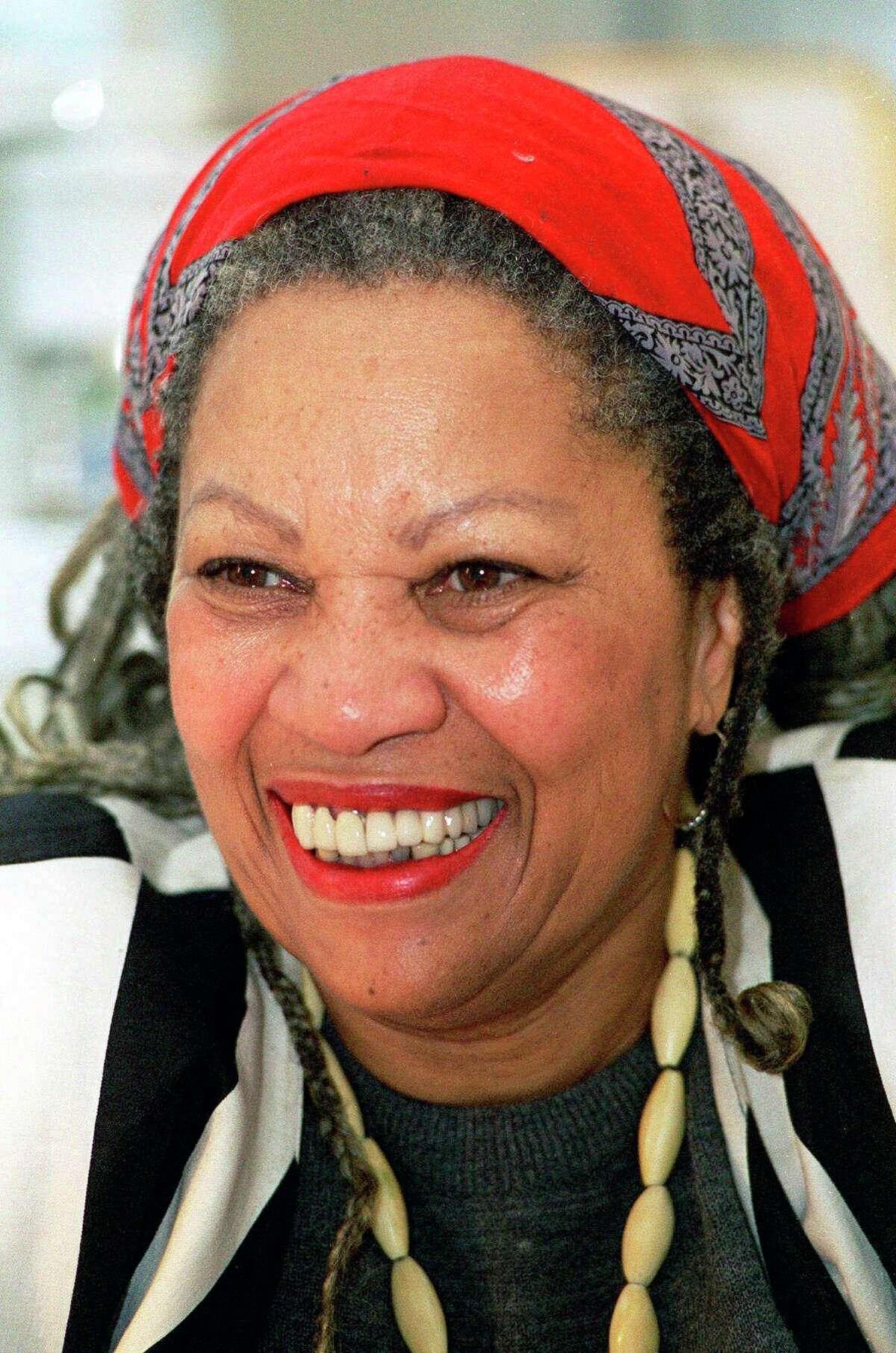 This Jan. 27, 1993, file photo shows Nobel prize winner Toni Morrison at Princeton University in Princeton, N.J.