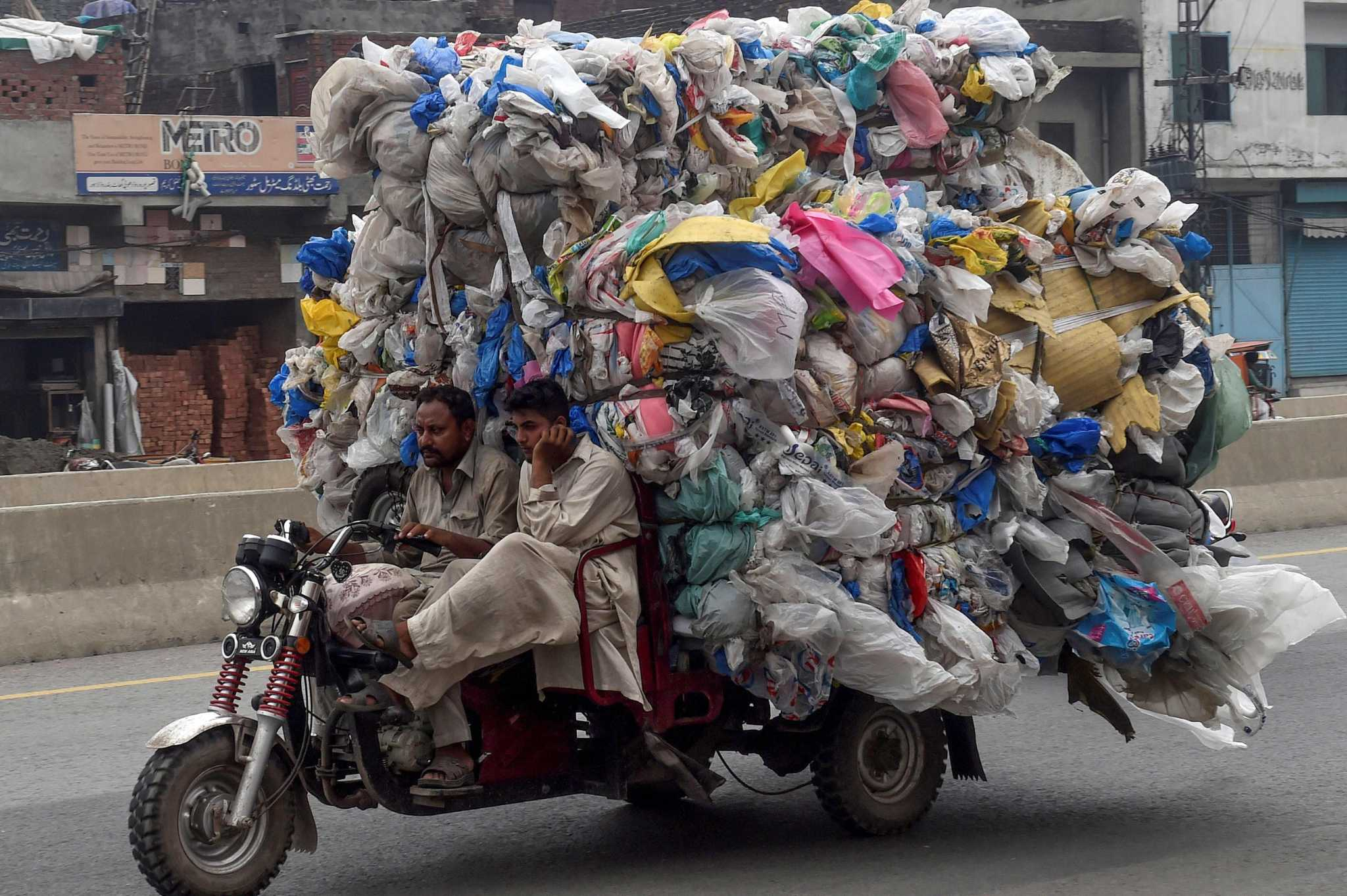 Monday letters: Plastic trash, an environmental nightmare
