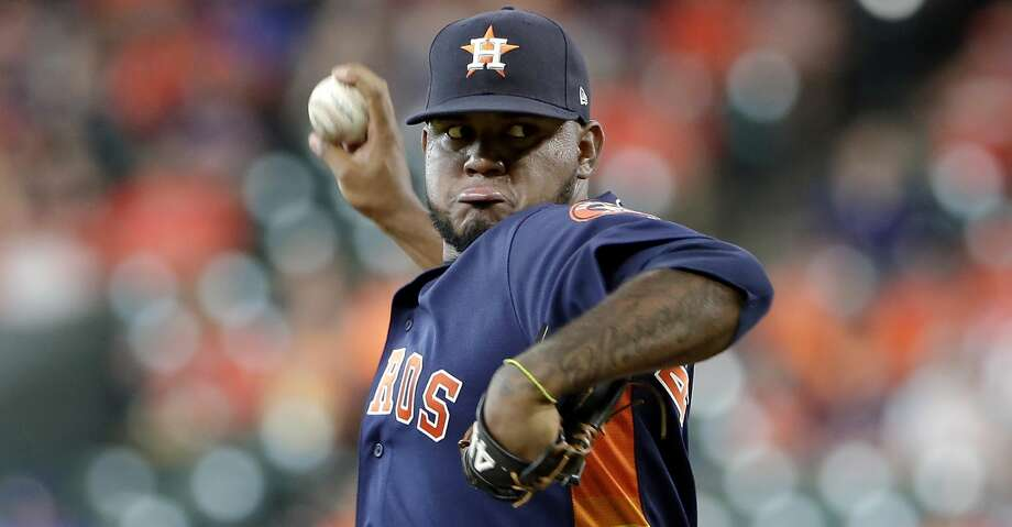 PHOTOS: Astros game-by-game Houston Astros starting pitcher Rogelio Armenteros throws during the first inning of a baseball game against the Texas Rangers, Sunday, July 21, 2019, in Houston. (AP Photo/Michael Wyke) Browse through the photos to see how the Astros have fared in each game this season. Photo: Michael Wyke/Associated Press
