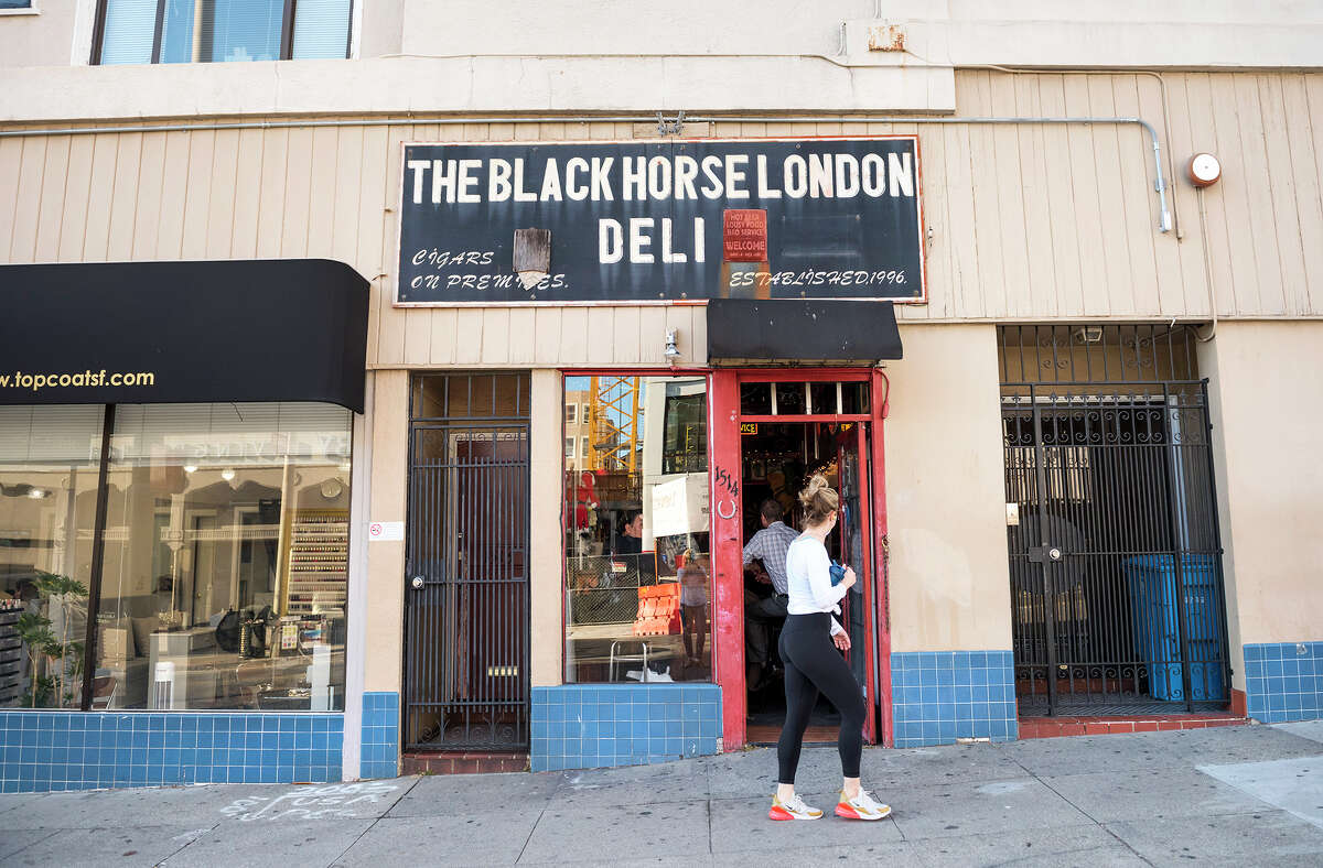 The Black Horse London Pub and Deli, located at 1514 Union St. (Union and Van Ness).