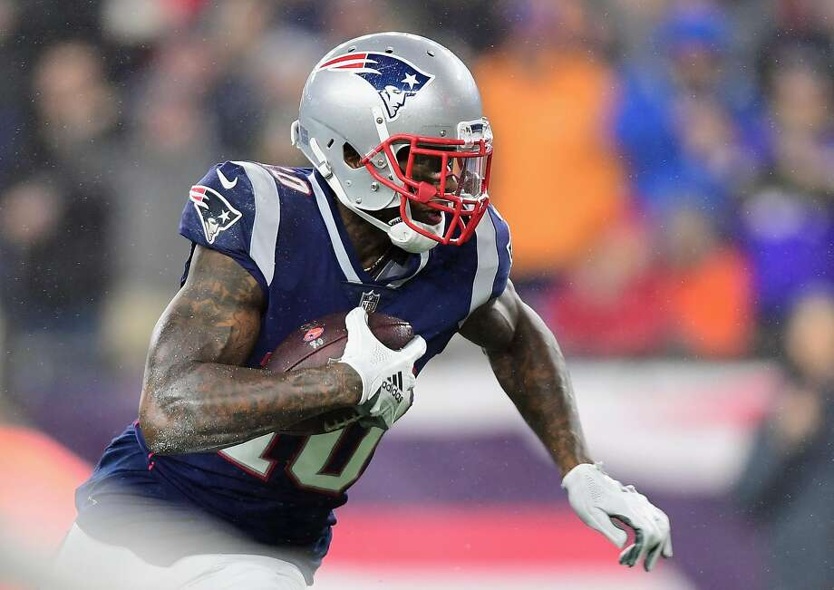 FOXBOROUGH, MA - DECEMBER 02:  Josh Gordon #10 of the New England Patriots runs on his way to scoring a touchdown during the third quarter against the Minnesota Vikings at Gillette Stadium on December 2, 2018 in Foxborough, Massachusetts.  (Photo by Billie Weiss/Getty Images) Photo: Billie Weiss, Getty Images